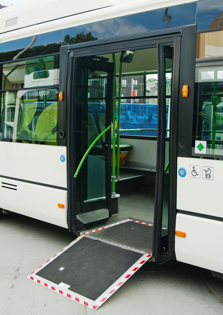 Rampas y plataformas autobus